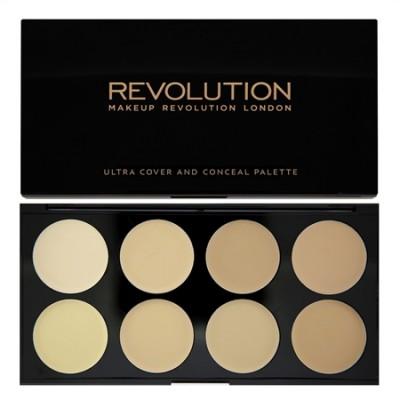 Набор консилеров MakeUp Revolution COVER AND CONCEAL Light: фото