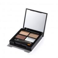 Набор для бровей MakeUp Revolution FOCUS & FIX EYEBROW SHAPING KIT Light Medium: фото