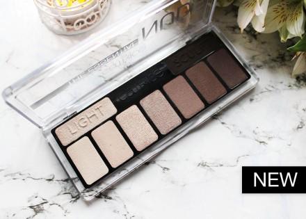Тени для век CATRICE The Essential Nude Collection Eyeshadow Palette 010 нюдовые: фото