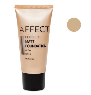 Тональный крем матирующий Perfect Matt Foundation SPF 15 Oil Free Affect F-0002: фото