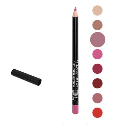 Карандаш для губ Shape&Colour Lipliner Pencil Long Lasting Affect Foggy Pink: фото