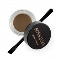 Помадка для бровей Makeup Revolution Brow Pomade Medium Brown: фото
