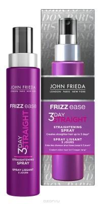 Выпрямляющий моделирующий спрей для волос длительного действия John Frieda Frizz Ease 3 DAY STRAIGHT 100 мл: фото