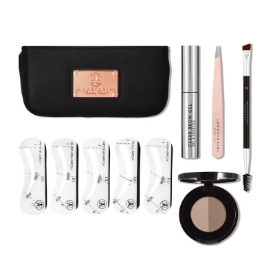 Набор для ухода за бровями Anastasia Beverly Hills 5-Element Brow Kit ABH01-57001 TAUPE: фото