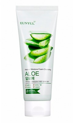 Пенка очищающая с алоэ EUNYUL Aloe foam cleanser: фото