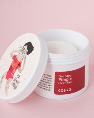 Подушечки с BHA-кислотами COSRX One step pimple clear pads 70 шт/135 мл: фото