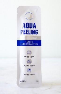Маска-пилинг для очищения пор A'PIEU Aqua Peeling BlackHead Swab Two Step: фото