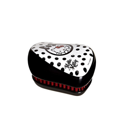 Расческа TANGLE TEEZER Compact Styler Hello Kitty Black черный: фото