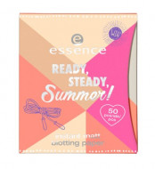 Матирующие салфетки ЕSSENCE Ready, Steady, Summer! Instant Matt Blotting Paper: фото