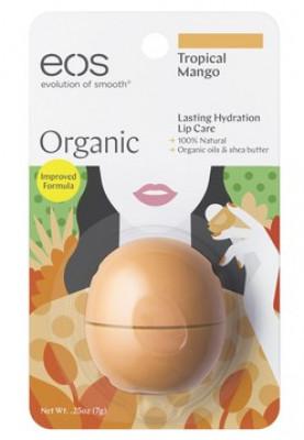 Бальзам для губ EOS Smooth Sphere Lip Balm Tropical Mango на картонной подложке: фото