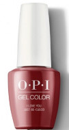 Гель для ногтей OPI GelColor Peru I Love You Just GCP39: фото