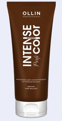 Бальзам для коричневых оттенков волос OLLIN Intense Profi Color Brown hair balsam: фото