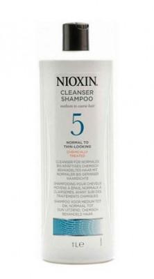 Шампунь очищающий Nioxin System5 1000мл: фото