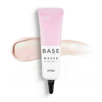 База под макияж A'PIEU Base Maker Pink SPF30/PA++: фото
