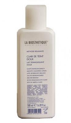 Эмульсия мягкая очищающая для чувствительной кожи La Biosthetique Relaxante Clair de Teint doux 500мл: фото