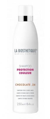 Шампунь для теплых коричневых оттенков La Biosthetique Shampoo Protection Couleur Chocolate24 250мл: фото