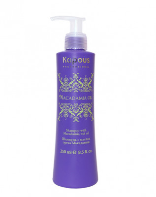 Шампунь с маслом ореха макадамии Kapous Professional 250мл: фото