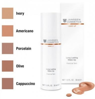 Тональный крем с UV-защитой SPF-15 Janssen Cosmetics Perfect Radiance Make Up №04 американо 30мл: фото