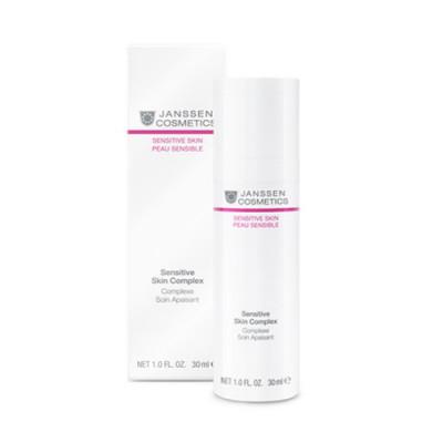 Концентрат восстанавливающий для чувствительной кожи Janssen Cosmetics Sensitive Skin Complex 30 мл: фото