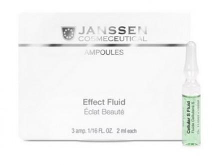 Сыворотка в ампулах для клеточного обновления Janssen Cosmetics Stem Cell Fluid 3*2мл: фото