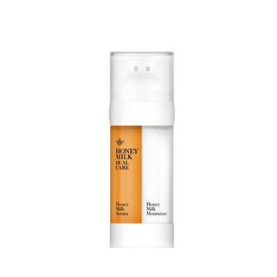 Сыворотка медовая и увлажняющий молочный крем для кожи лица Double Dare OMG! Honey Milk Drop 2in1: фото