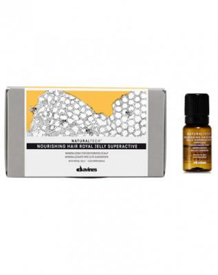 Комплекс питательный суперактивный Королевское желе Davines Nourishing Hair Royal Jelly Superactive 6*8мл: фото