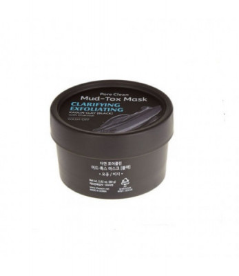Маска для лица с каолиновой глиной TheYEON Pore Clean Mud-Tox Mask [Black] 80гр: фото