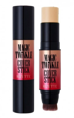 Маскирующий карандаш Lioele Rizette Magic Twinkle Cover Stick SPF50+ PA+++ №21 12,5г: фото