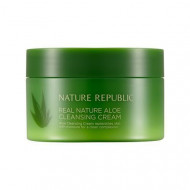Крем очищающий с экстрактом алоэ NATURE REPUBLIC Real Nature Cleansing Cream Aloe 200мл: фото