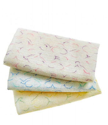 Мочалка для душа Sungbo Cleamy 28х95 Heart Shower Towel 1шт: фото