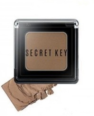 Тени для век моно SECRET KEY Fitting Forever Single Shadow #Nude Skin Beige 2,5г: фото