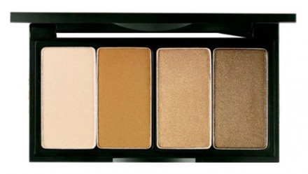 Палетка теней для век SECRET KEY Day By Day Shadow Palette Soul Brown 3г*4: фото