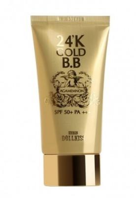 BB-крем с 24к золотом Baviphat Urban Dollkiss Agamemnon 24K Gold BB Cream #23 Natural, SPF 50+ P 50мл: фото