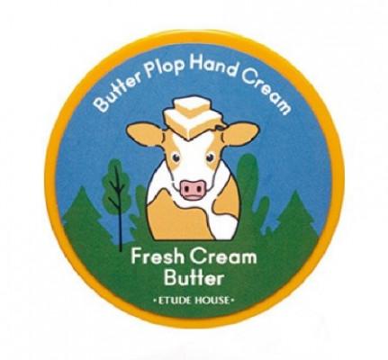 Крем-баттер для рук освежающий ETUDE HOUSE Plop Hand Cream Fresh Cream Butter 25мл: фото