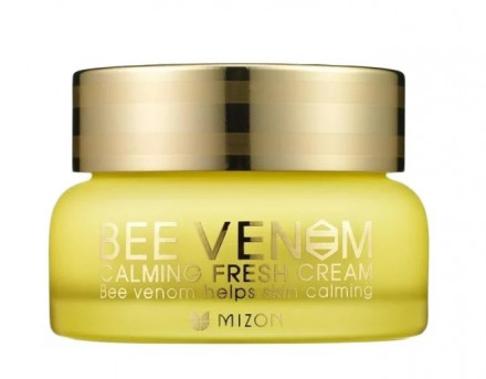 Крем с прополисом и пчелиным ядом MIZON Bee Venom Calming Fresh Cream: фото