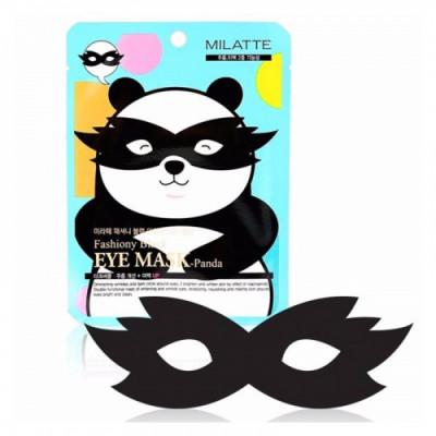 Маска для кожи вокруг глаз Milatte Fashiony Black Eye Mask-Panda Pouch: фото