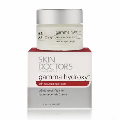 Крем обновляющий против морщин и видимых признаков увядания кожи лица Skin Doctors Gamma Hydroxy 50мл: фото