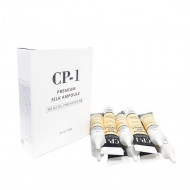 Сыворотка несмываемая для волос с протеинами шелка ESTHETIC HOUSE CP-1 Premium Silk Ampoule, 10*20мл: фото