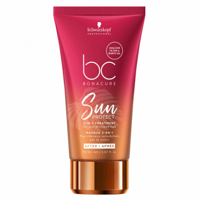 Маска для волос 2-в-1 Schwarzkopf Professional BC Sun Protect 2-in-1 Treatment 150мл: фото