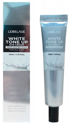 Крем вокруг глаз, выравнивающий тон кожи LEBELAGE White Tone Up Eye Cream 40мл: фото