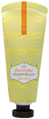 Крем для рук Welcos Around me Happiness Hand Cream Shea Butter 60г: фото