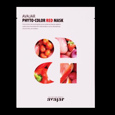 Маска питательная Avajar Phyto-Color Red Mask 10шт: фото
