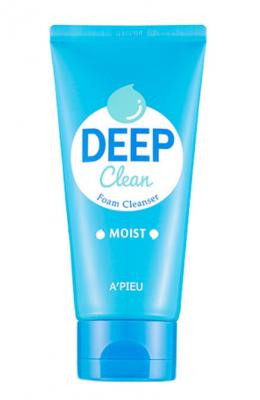 Пенка для умывания увлажняющая A'PIEU Deep Clean Foam Cleanser Moist 130мл: фото