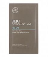 Патчи для носа с алоэ вера THE FACE SHOP Jeju Volcanic Lava Aloe Nose Strips: фото