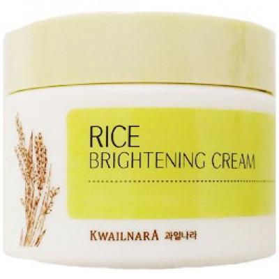 Крем осветляющий с рисовым экстрактом Welcos Rice Brightening Cream 50мл: фото