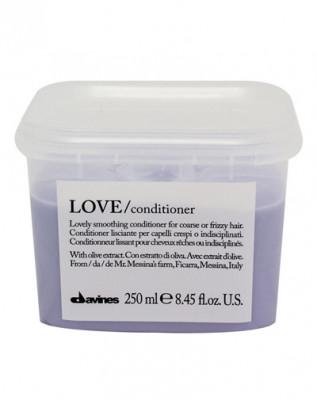 Кондиционер для разглаживания завитка Davines LOVE smoothing conditioner 250 мл: фото