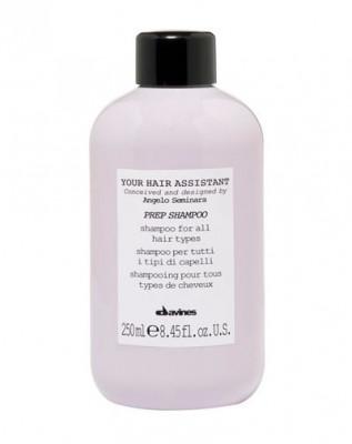 Универсальный шампунь для подготовки волос к укладке для всех типов волос Davines Your Hair Assistant Prep shampoo 250 мл: фото