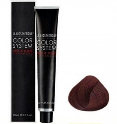 Краситель La Biosthetique Tint & Tone 5/6 Светлый шатен махагоновый 90мл: фото