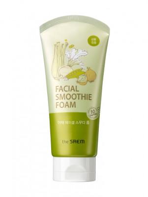Пенка для умывания деликатная овощная THE SAEM Vegetable Facial Smoothie Foam W 150мл: фото