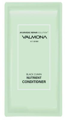 Набор для волос: Кондиционер АЮРВЕДА EVAS VALMONA Ayurvedic Repair Solution Black Cumin Conditioner 10мл*50 шт: фото